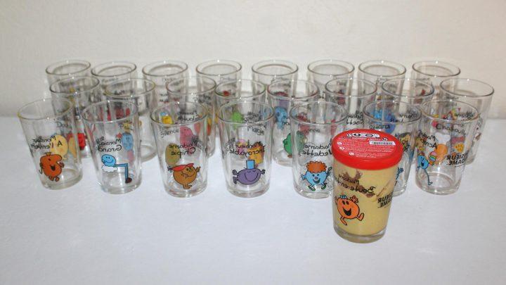 Les collections de verres